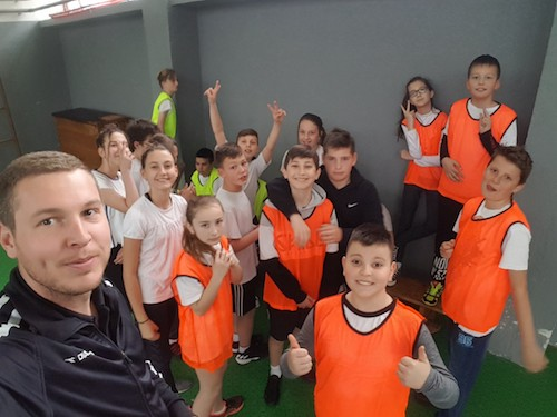 In eight BiH schools football became a tool of good communication